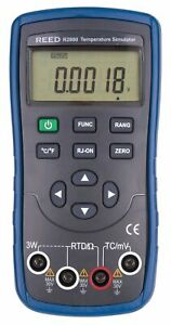 Reed R2800 Temperature Simulator calibrator Internal Cold Junction Compensation