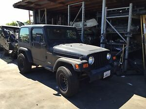 1997 2002 Jeep Wrangler Tj Bare Tub With Roll Bar Cage Oem Body Floor Frame