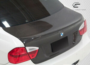 Carbon Creations Series E90 4dr Dritech Csl Look Trunk 1 Piece For 3 Bmw 06