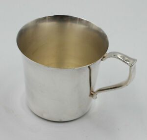 Wallace Silver Plate 35 Baby Cup