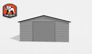 Durable Double Wide Metal Building
