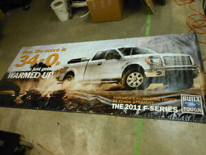 New Ford F 150 Dealership Banner 2 Sided 8 X 4 Man Cave Garage Sign