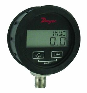 Dwyer Dpgwb 10 Digital Pressure Gauge 0 300 Psi For Liquid gas W 0 5 Accuracy