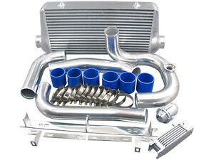 Intercooler Kit For 93 02 Toyota Supra Mkiv With 2jz gte Factory Twin Turbo blue