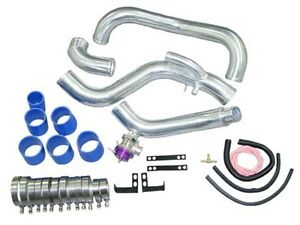 Intercooler Piping Kit Greddy Style Bov For 89 99 240sx S14 S15 Sr20det Blue