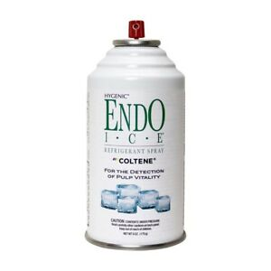 Hygenic Endo Ice Green Refrigerant Spray Pulp Vitality 6oz 2 pack Coltene
