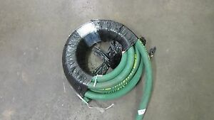 New Clemco Blast Hose 175psi 2 Braid Hose 15 16 X 1 7 8 X 45 Feet