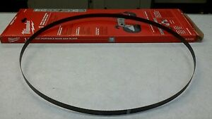 Milwaukee Portable Bandsaw Blade 48 39 0520 New 5 Pcs
