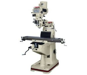 Jet 690087 Jtm 4vs Mill With Newall Dp700 Dro And X axis Powerfeed free Shipping