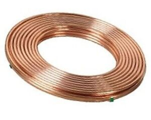 1 2 Inch X 50 Ft Soft Copper Tubing Refrigeration Acr Tubing High Quality