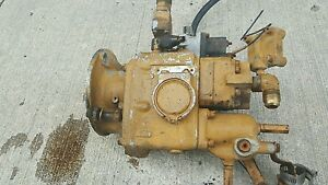 Old Vintage Cummins Motor Engine Diesel Injection Pump Nhs Nhs 6 1f Iron Lung