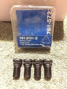 Raybestos 761 5721 Electric Trailer Brake Assembly Mounting Bolt Kit 7 16