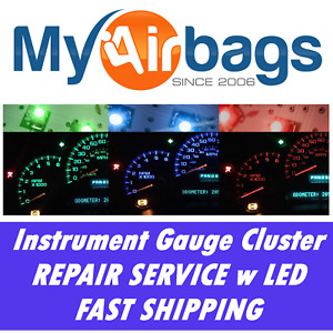 Fits Chevy Impala Instrument Cluster Gauge Speedometer Repair led