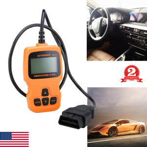 Automotive Car Obd2 Obdii Code Reader Engine Check Diagnostic Auto Scanner Tool