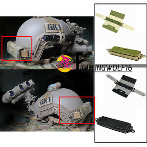 Paintball Tactical Ops Core Fast Rear Counterweight Helmet Accessory Pouch Bag