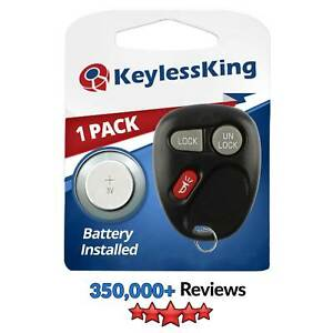 Replacement For Gmc Sierra 1500 2500 3500 1999 2000 2001 Keyless Entry Remote