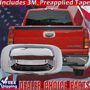2001 2006 Chevy Silverado Gmc Sierra 2500 3500 Chrome Tailgate Handle Cover