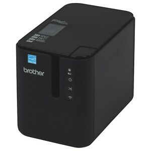 New Brother Pt p900w Label Printer Authorized Brother Dealer 2 Year Warranty