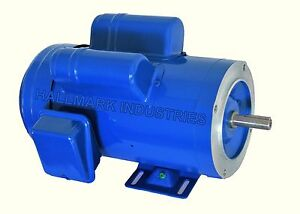 Ac Motor 2hp 1750 Rpm 1ph 115v 208 230v 56c tefc With Base