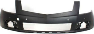 Primed Front Bumper Cover Replacement For 2010 2012 Cadillac Srx