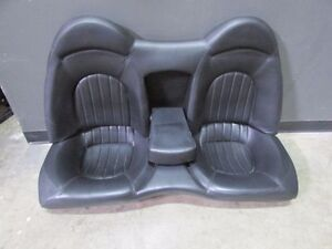 Maserati M128 Coupe Rear Seat Assembly Black Used