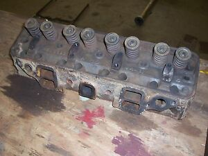 1954 Ford Crestline V8 Engine Motor Cylinder Head Y Block Ebu6090 Rat Rod Parts