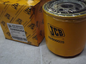 Jcb Fuel Filter Oem 02 800025a Lot Of 5 Same As 33386 Bf954 P550057 P3627