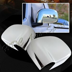 For 2002 2008 Dodge Ram 1500 2500 3500 Chrome Abs Plastic Side Mirror Cover Cap