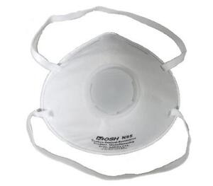 Industrial Particulate Niosh N95 Exhale Valve Respirator Face Mask Air Filter