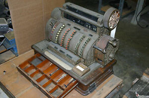 National Cash Register No 542 Brass From 1909 Serial 796855