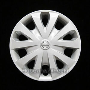 Hubcap For Nissan Versa 2012 2019 Genuine Factory Oem Wheel Cover Silver 53087