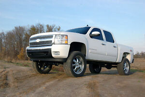 New Rough Country Suspension 07 13 Chevrolet Gmc 1500 4wd 7 5 Lift Kit 264 20