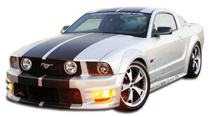 05 09 Ford Mustang Duraflex Gt500 Wide Body Kit 10pc Body Kit 104952