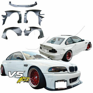 Vsaero Frp Tkyo Bunny Wide Body Kit 7pc 2dr Coupe For Bmw M3 E46 02 05