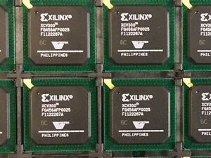Lot Of 10 New Xilinx Xcv300 6fg456c Virtex 2 5v Fpga 456 Bga