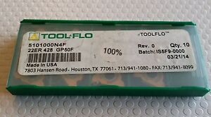 Tool Flo 22er 428 Gp50f New Carbide Inserts 9 Pcs