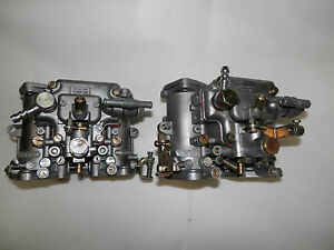 Dellorto 48 Dhla Turbo Carburetors
