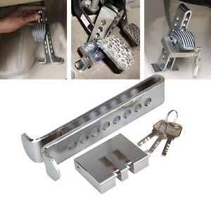 Stainless Steel Auto Car Anti Theft Security Supplies Device Clutch Brake Lock