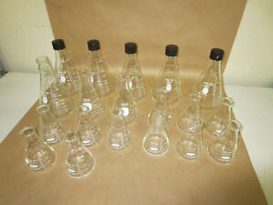 Pyrex Kimax Erlenmeyer Flasks 250 500 1000 And 2000ml Mixed Lot Of 21
