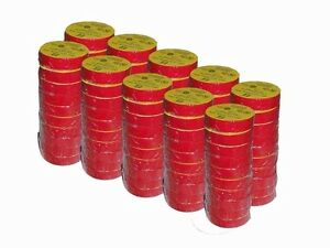 Red Electrical Tape 100 Roll Case 7 Mil 3 4 Inch X 66 Ft