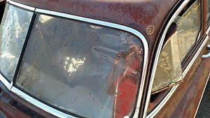 1949 52 Chevrolet Coupe Sedan Delivery Windshield Upper Molding Left 4560829