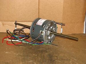 New Magnetek 3 Speed 1 3 Hp Double Shaft Blower Motor Stock 102 Model He3h7001n