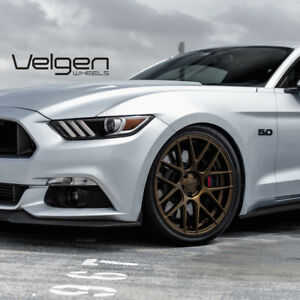 20 Velgen Vmb7 Bronze Concave Mesh Wheels Rims Fits Ford Mustang Gt