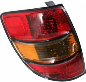 Tail Light For 2003 2008 Pontiac Vibe Driver Side Assembly