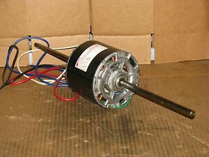 New Magnetek 3 Speed 1 6 Hp Double Shaft Blower Motor Stock 348 Model Da3j648n