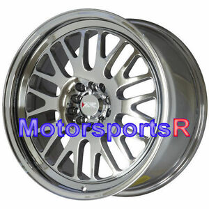 Xxr 531 Wheels Platinum Pvd Lip 17 X 8 Rims 35 5x114 3 06 15 Honda Civic Si Ex