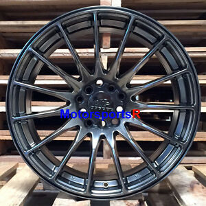 Xxr 550 Wheels 20 16 Chromium Black Staggered Concave Rims 5x114 3 Lexus Sc430