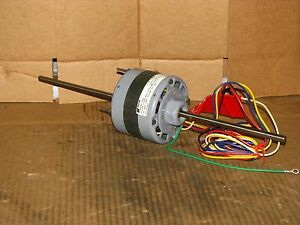 New Magnetek 4 Speed 1 20hp Double Shaft Blower Motor Stock 363 Model Ca2f043n