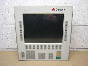 Gehring Msc Bebo1 kt Industrial Pc Computer Operator Interface Control Panel
