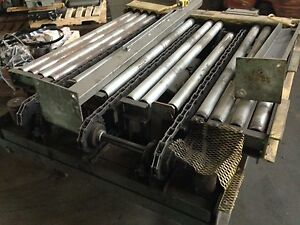 51 Chain Driven Power Conveyor With Crossover